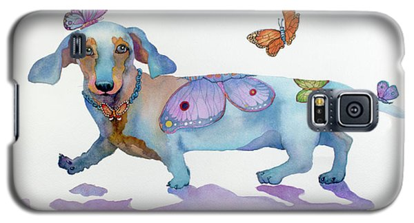 Butterfly Doxie Doo Galaxy S5 Case