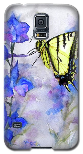 Galaxy S5 Case featuring the painting Butteryfly Delight by Bonnie Rinier