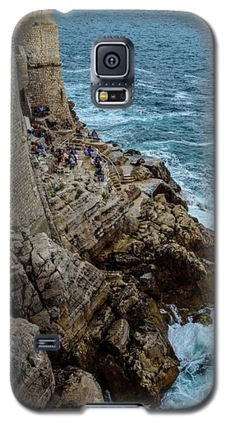 Buza Bar On The Adriatic In Dubrovnik Croatia Galaxy S5 Case