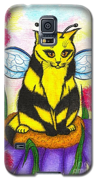 Buzz Bumble Bee Fairy Cat Galaxy S5 Case