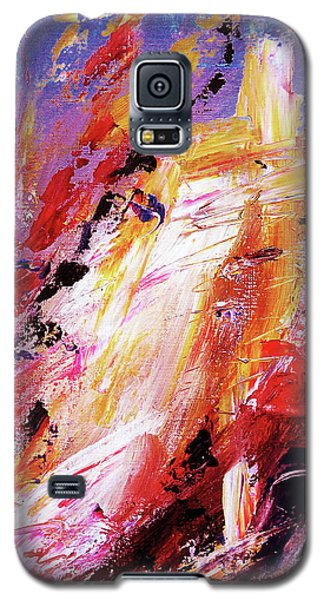 By Herself 3 Galaxy S5 Case by Jasna Dragun