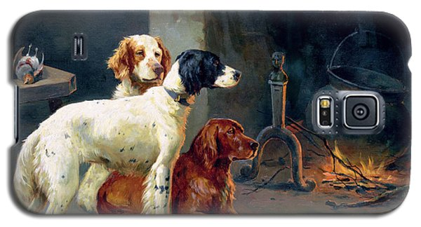 Pheasant Galaxy S5 Case - By The Fire by Alfred Duke