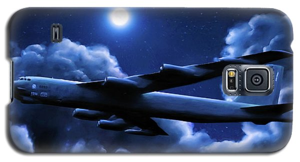 Galaxy S5 Case featuring the painting By The Light Of The Blue Moon by Dave Luebbert