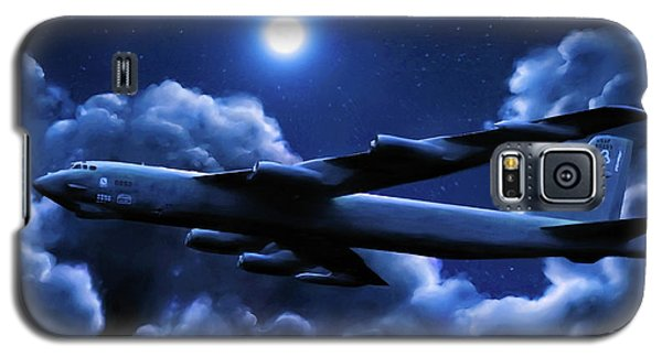 By The Light Of The Blue Moon Galaxy S5 Case by Dave Luebbert