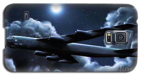 Galaxy S5 Case featuring the painting By The Light Of The Silvery Moon by Dave Luebbert