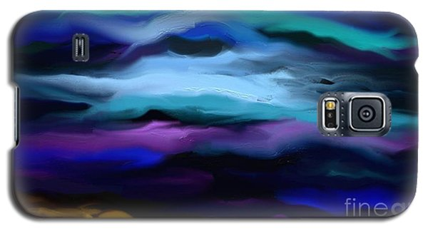 Galaxy S5 Case featuring the painting By The Sea by Rushan Ruzaick
