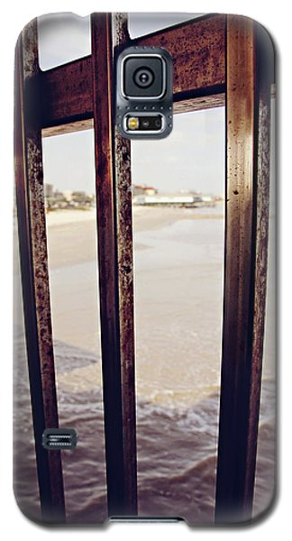 Galaxy S5 Case featuring the photograph By The Sea by Trish Mistric
