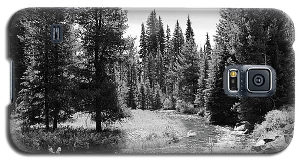 Galaxy S5 Case featuring the photograph By The Stream by Christin Brodie