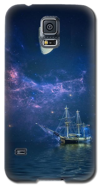By Way Of The Moon And Stars Galaxy S5 Case