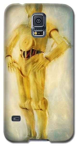 R2-d2 Galaxy S5 Case - C-3po by Dan Sproul