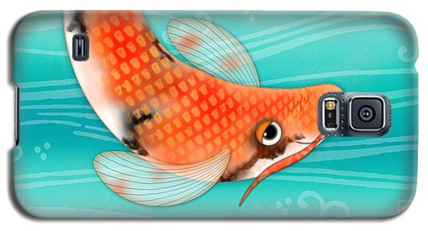 C Is For Cal The Curious Carp Galaxy S5 Case