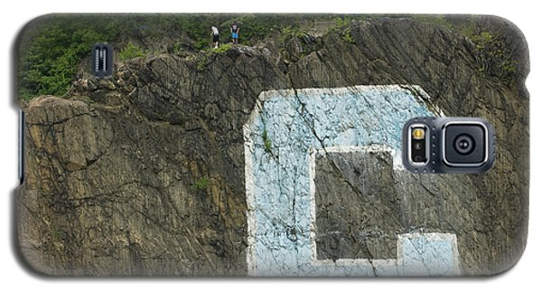 C Rock Of Columbia University Galaxy S5 Case