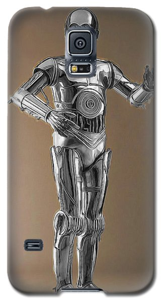 R2-d2 Galaxy S5 Case - C3po Androids Rule by Scott Campbell