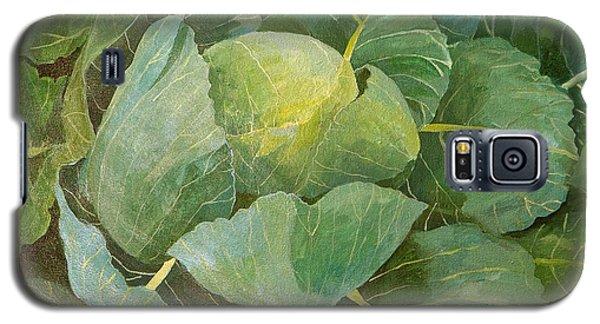 Cabbage Galaxy S5 Case by Jennifer Abbot