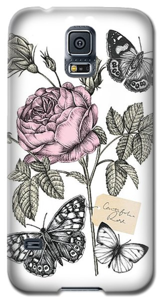 Cabbage Rose Galaxy S5 Case by Stephanie Davies