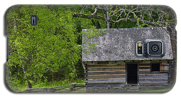 Cabin At Zebulon Vance Birthplace Galaxy S5 Case