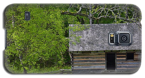 Cabin At Zebulon Vance Birthplace Galaxy S5 Case