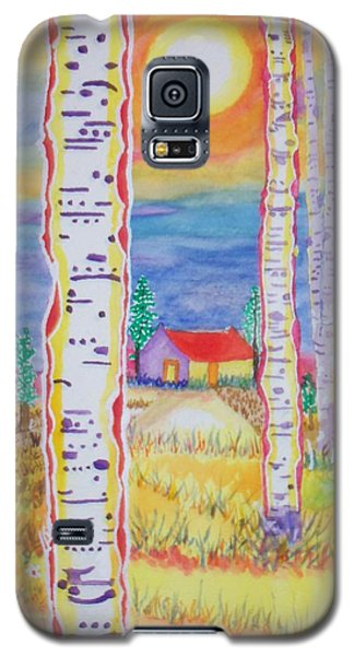 Cabin In The Woods Galaxy S5 Case by Connie Valasco