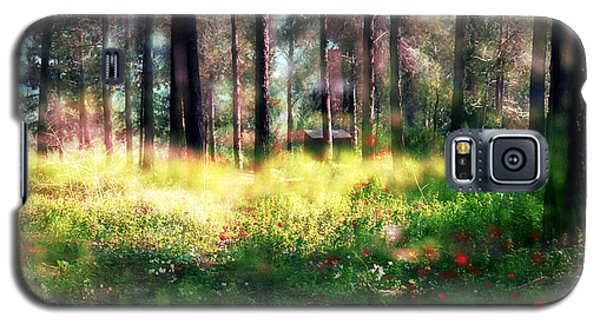 Cabin In The Woods In Menashe Forest Galaxy S5 Case