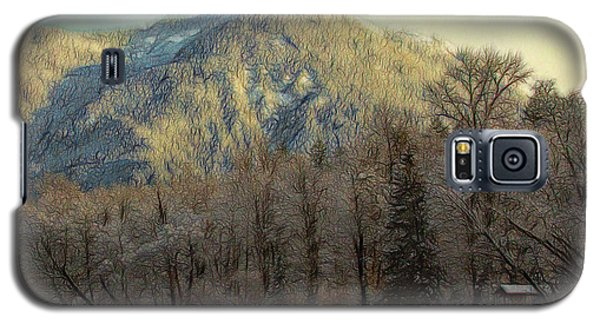 Cabin On The Skagit River Galaxy S5 Case