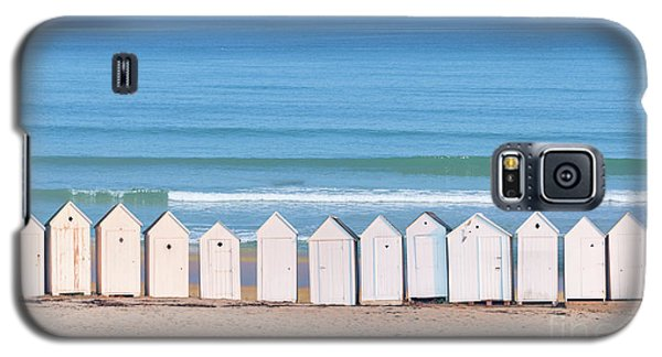 Galaxy S5 Case featuring the photograph Cabins by Delphimages Photo Creations