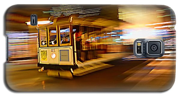 Cable Car At Light Speed Galaxy S5 Case