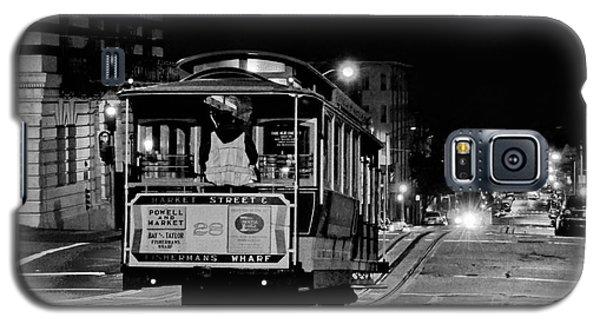 Cable Car At Night - San Francisco Galaxy S5 Case