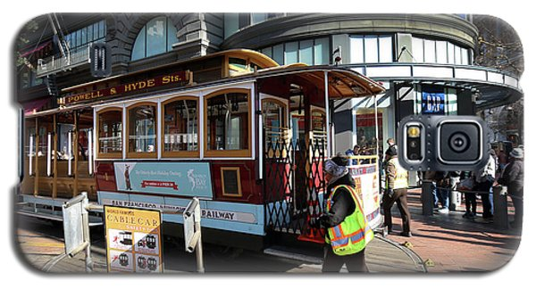 Cable Car At Union Square Galaxy S5 Case