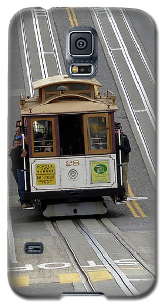 Cable Car Galaxy S5 Case by Steven Spak