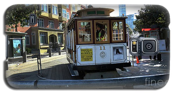 Cable Car Turnaround Galaxy S5 Case by Steven Spak