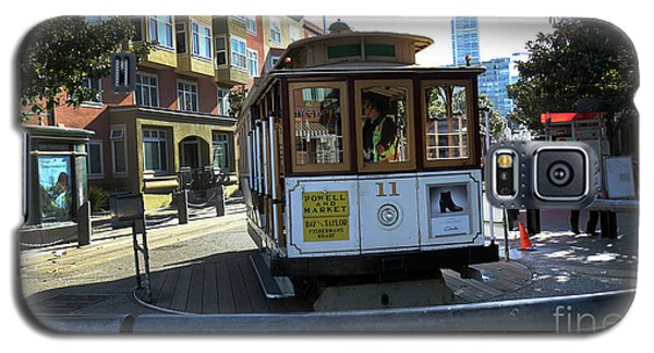Galaxy S5 Case featuring the photograph Cable Car Turnaround by Steven Spak