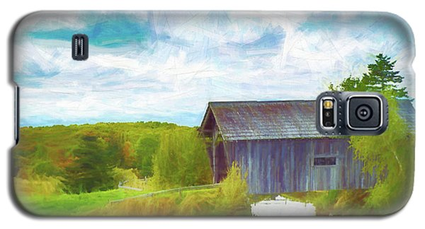 Cabot Vermont Covered Bridge Galaxy S5 Case