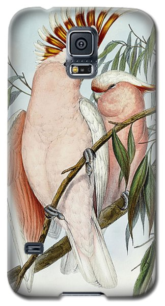 Cacatua Leadbeateri Galaxy S5 Case by John Gould
