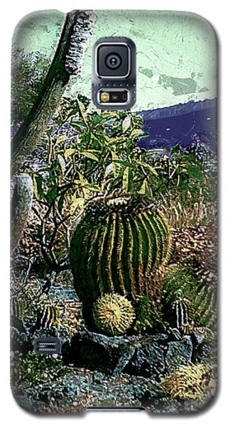 Galaxy S5 Case featuring the photograph Cacti by Lori Seaman