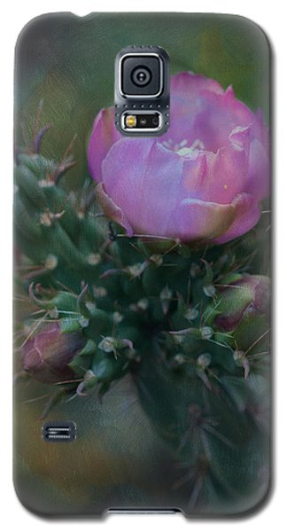 Cactus Bloom Galaxy S5 Case