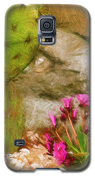 Cactus Lines Galaxy S5 Case by Terry Cork