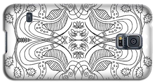 Cactus Liz Galaxy S5 Case by Angela Treat Lyon