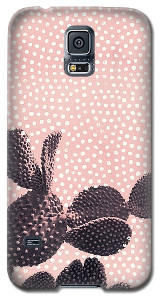 Cactus With Polka Dots Galaxy S5 Case
