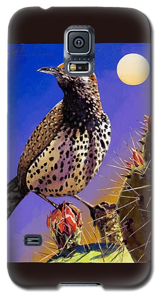 Cactus Wren Galaxy S5 Case by Bob Coonts