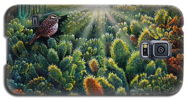 Cactus Wren Galaxy S5 Case