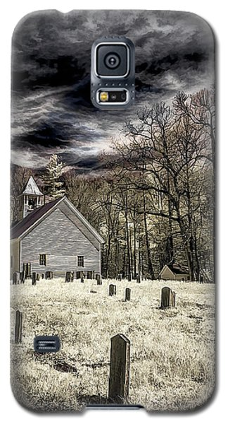 Cades Cove Church Galaxy S5 Case