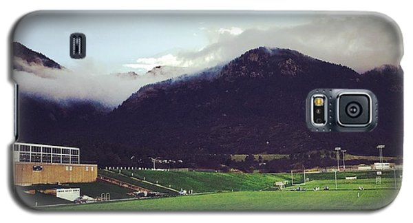 Galaxy S5 Case featuring the photograph Cadet Athletic Fields by Christin Brodie