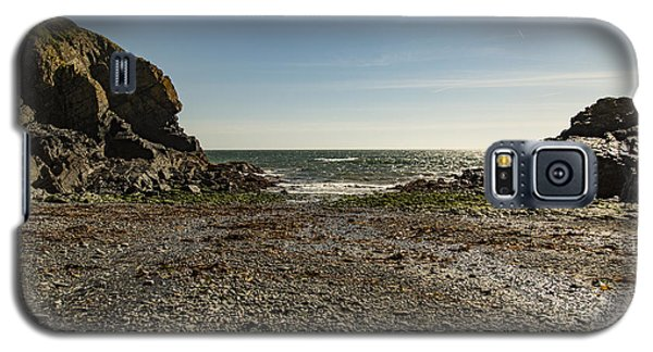 Galaxy S5 Case featuring the photograph Cadgwith Cove Beach by Brian Roscorla