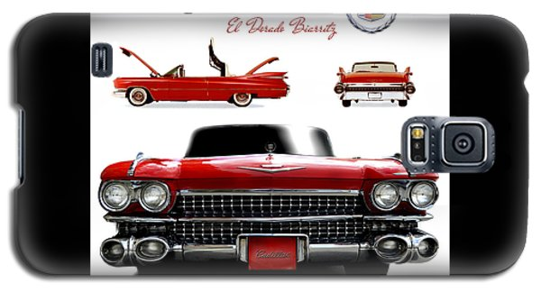 Galaxy S5 Case featuring the photograph Cadillac 1959 by Gina Dsgn