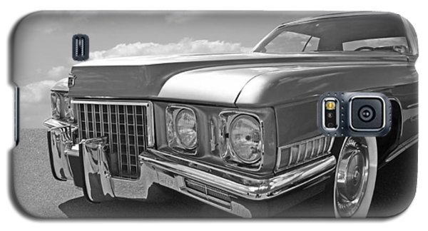 Cadillac Coupe De Ville 1971 In Black And White Galaxy S5 Case