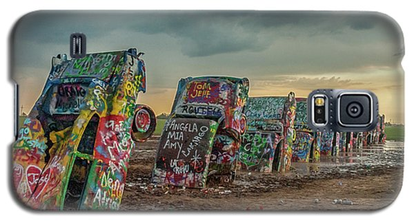 Cadillac Ranch Before The Rain Galaxy S5 Case
