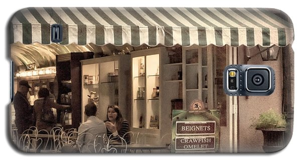 Cafe Beignet 2 Galaxy S5 Case by Jerry Fornarotto