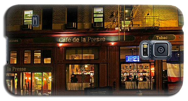 Cafe De La Presse On Bush St Galaxy S5 Case