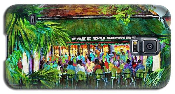 Cafe Du Monde Morning Galaxy S5 Case
