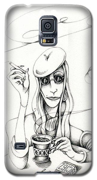 Cafe Lady Galaxy S5 Case